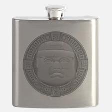 Olmec Grey Flask