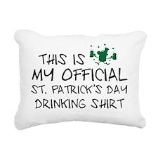 officialIrishShirt1A Rectangular Canvas Pillow