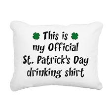 officialIrishShirt3A Rectangular Canvas Pillow