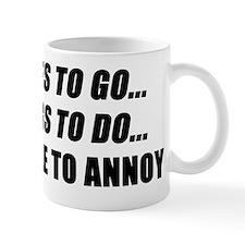 Places to Go Small Mug