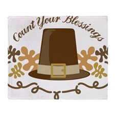 Count Your Blessings Throw Blanket