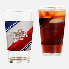 dreamingofbaseballsq Drinking Glass