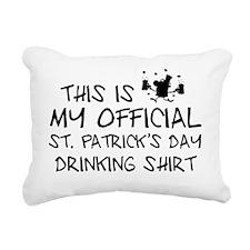 officialIrishShirt1E Rectangular Canvas Pillow