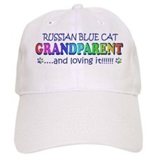 russian blue Baseball Cap