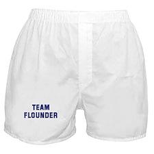 Team FLOUNDER Boxer Shorts