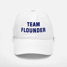 Team FLOUNDER Baseball Baseball Cap