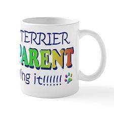 pit bull terrier Small Mugs
