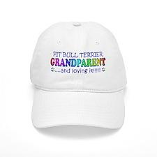 pit bull terrier Baseball Cap