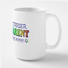 pit bull terrier Large Mug