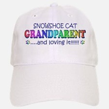 snowshoe cat Baseball Baseball Cap