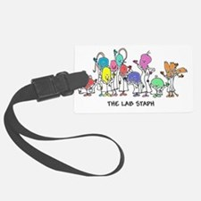 The Lab Staph Luggage Tag