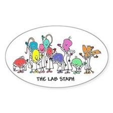 The Lab Staph Decal