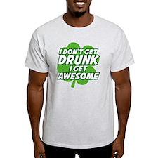 dontDrunkAwesome2A T-Shirt
