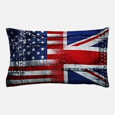 UK USA FLAG Pillow Case