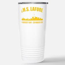 HMS Laforey - Gold Travel Mug