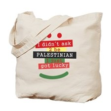 didnt ask to be Palestinian Tote Bag