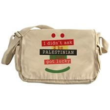 didnt ask to be Palestinian Messenger Bag