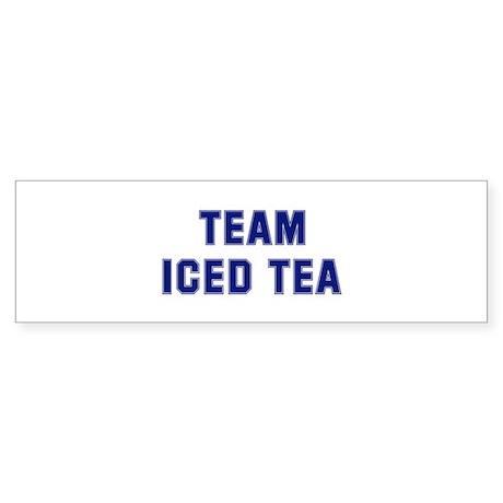 Team ICED TEA Bumper Sticker