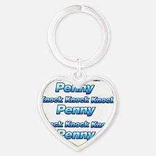 Knock Knock Knock Penny 3 Heart Keychain