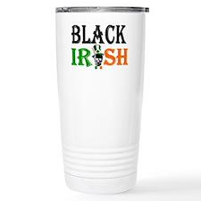 Black Irish St Patricks Travel Mug