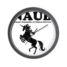 Unicorn Believers Wall Clock