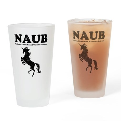 Unicorn Believers Drinking Glass