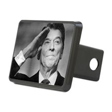 Ronald Reagan Salutes Hitch Cover