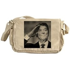 Ronald Reagan Salutes Messenger Bag