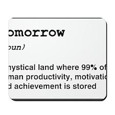 Procrastinate Mousepad