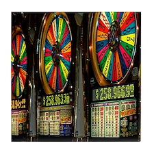 Las Vegas Slot Machines Tile Coaster
