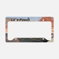 Lake Powell, Canyon Odyssey,  License Plate Holder