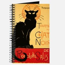 French Black Cat Journal