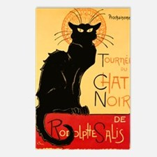French Black Cat Postcards (Package of 8)