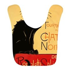 French Black Cat Bib