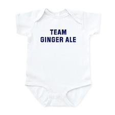 Team GINGER ALE Infant Bodysuit