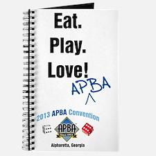 Eat. Play. Love APBA! Journal
