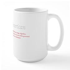 I am an American v2 white Mug