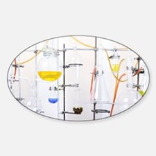 Chemistry apparatus Decal