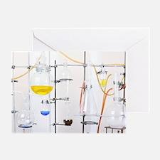 Chemistry apparatus Greeting Card