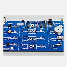 Educational circuit board Postcards (Package of 8)