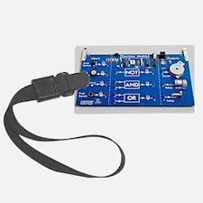 Educational circuit board Luggage Tag