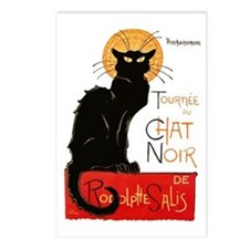 Tournee du Chat Steinlen  Postcards (Package of 8)