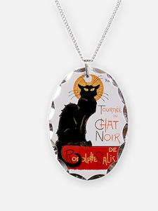 Tournee du Chat Steinlen Black Necklace