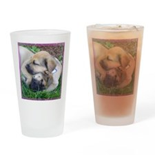 Hannah Stormy Square Drinking Glass