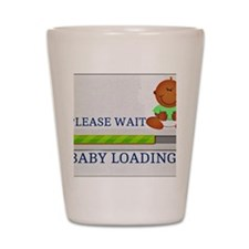 Baby Loading Shot Glass