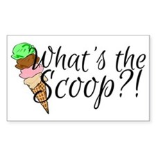 Whats the scoop? Decal