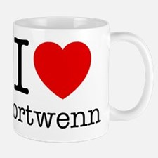 I Love Portwenn Small Small Mug