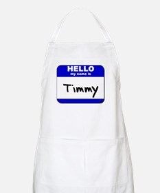 hello my name is timmy  BBQ Apron
