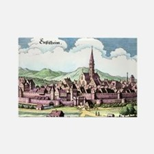 Ensisheim, France, 17th Century a Rectangle Magnet