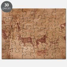 Pictograph of Lion attack, Libya Puzzle